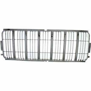 Grille Insert For 2002 2003 Jeep Liberty Chrome Plastic