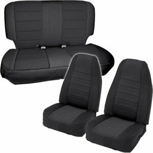 Smittybilt 471201 Seat Cover For 97 2002 Jeep Wrangler Tj Front