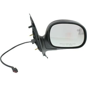 New Mirror Passenger Right Side Heated Rh Hand Ford Expedition 1997 2002