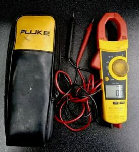 Fluke 902 Hvac Amp Clamp Meter Digital Multimeter Used