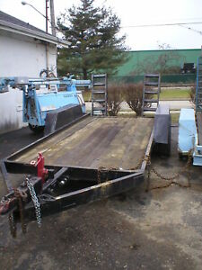 Trailer Wood Deck