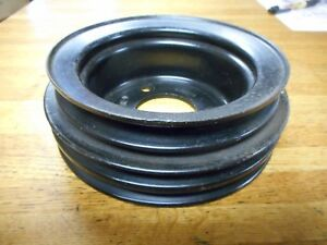 1968 1969 1970 Ford Mustang 428cj Lower Engine Pulley W Power Steering 3 Row