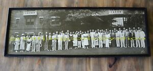 Vtg Panoramic Photo Participants Of Dr Alfred Kinsey Sex Studies Fred Schutz