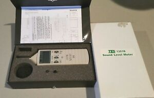 Tes 1351b Sound Level Meter Noise Tester 35 100db 0 1db Aux Output Jacks