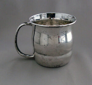 Towle 10722 Sterling Silver Baby Or Child S Cup No Monograms G259