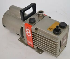Edwards 8 E2m8 Laboratory Dual Stage Rotary Vane Vacuum Pump 0 5hp Boc