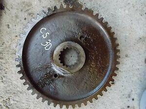 Cockshutt 30 Tractor Rear Main Pinion Bowl Bull Drive Gear