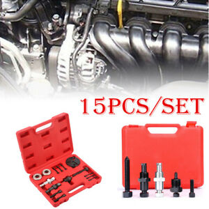 15pcs Auto Car Truck Air Conditioning Compressor Repair A C Delphi Clutch Set