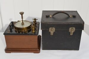 Fantastic Westinghouse Electric Mfg Co Precision Wattmeter With Leather Case