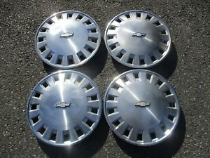 1990 To 1994 Chevy Lumina 14 Inch Metal Hubcaps Wheel Covers Set