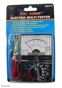 Analog Electric Multimeter Small Meter Automotive Diagnostic Tool Tools