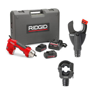 Ridgid 56498 Re 6 Electrical Tool Cut Crimp Kit