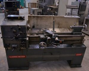 Clausing Metosa 14 X 40 C1440s Engine Lathe Acu rite 2x Turn D200 Dom
