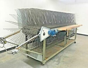 M m Research Engineering Screen Printing Motorized Drying Racks Trays Shelves