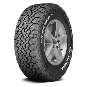 General Set Of 4 Tires Lt275 70r17 R Grabber A Tx All Season Performance