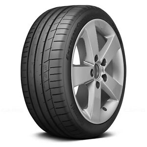 Continental Set Of 4 Tires 225 45r17 W Extremecontact Sport Summer Performance