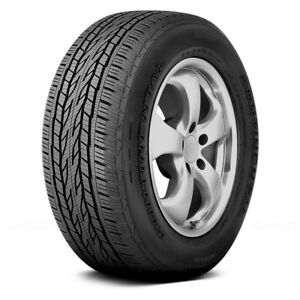 Continental Set Of 4 Tires 245 60r18 H Crosscontact Lx20 Truck Suv