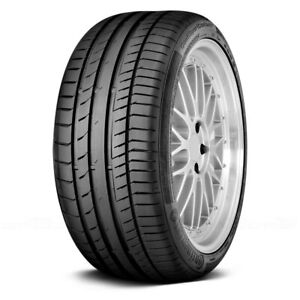 Continental Set Of 4 Tires 235 45r17 W Contisportcontact 5 Contiseal Performance
