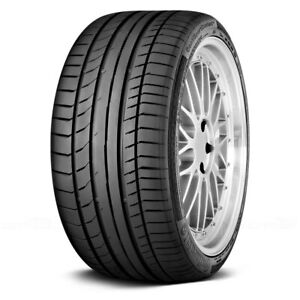Continental Set Of 4 Tires 235 35r19 Y Contisportcontact 5p Summer Performance