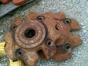 Allis Chalmers Wd Wd45 Ac Tractor Rear Wheel Weights