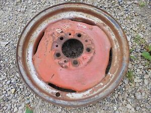 Allis Chalmers D14 Tractor 4 1 4 X 16 Front Ac Rim To Use With Tire
