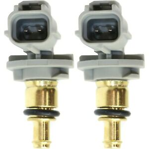New Coolant Temperature Sensors Set Of 2 For Ford Focus Escape Taurus Mpv Pair
