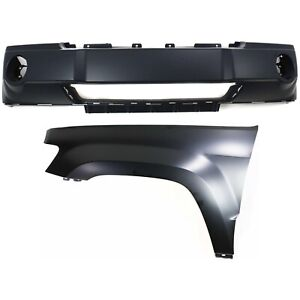 New Kit Auto Body Repair Front For Jeep Grand Cherokee 2005 2007