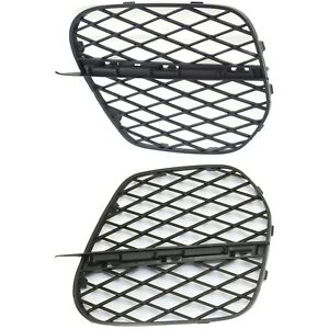 Bumper Grille For 2011 2013 Bmw X5 Set Of 2 Driver And Passenger Side