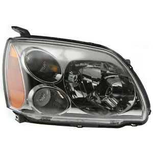 Headlight For 2005 2006 2007 Mitsubishi Galant Right With Bulb
