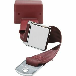 Beams Hl800 maroon Seat Belt Maroon 2 point Universal