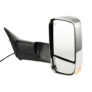 Tow Mirror For 2011 2012 Ram 1500 Passenger Right Side Power Heated Corner Glass