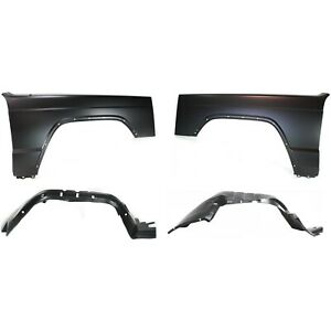 Auto Body Repair Kit Front Driver Passenger Side Lh Rh For Jeep Cherokee 97 01