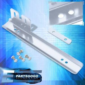 Chrome Jdm License Plate Relocation Adapter Bracket Scion Tc Xb Xa Xd Frs