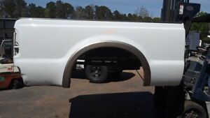 Rnb Ford F250 Short Bed 99 10 White Super Duty Minimal Rust repairable Box Truck