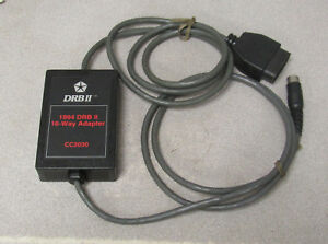 Miller Cc2030 1994 Drb Ii 16 Way Adapter Cable