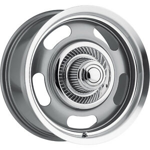 20x8 5 Gunmetal Vision Rally Wheels 5x4 75 5x5 10 Fits Oldsmobile