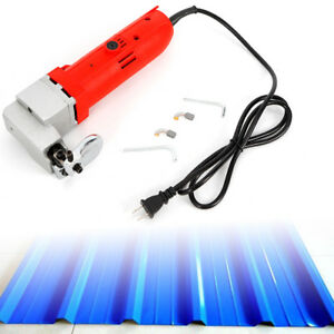 500w Electric Sheet Metal Iron Scissors Double insulated Hand held Power Tool Us