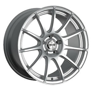 4 New 14 Inch Maxxim 10s Winner 14x6 4x100 4x114 3 38mm Silver Wheels Rims
