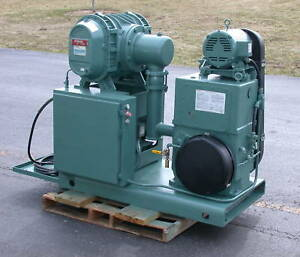 Stokes 1721 Vacuum System 615 Blower W 212h 11 Pump