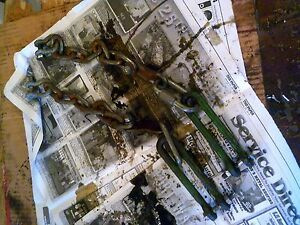 John Deere Mt Tractor 2 Fixed 3pt Hitch Sway Chains