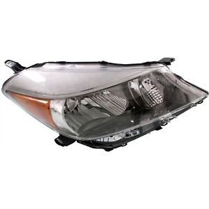 Headlight For 2012 2013 2014 Toyota Yaris Hatchback Sport Type Right With Bulb