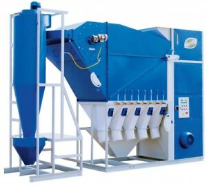 Grain Cleaning Machine Cad 20 With Cyclone