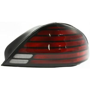 Halogen Tail Light For 1999 05 Pontiac Grand Am Se Se1 Se2 Right Clr Red W Bulbs