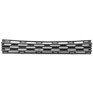 Bumper Grille For 2002 2007 Gmc Sierra 1500 2001 2006 Yukon Center Black Plastic