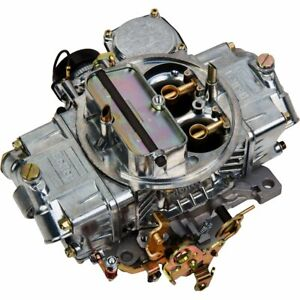 Holley 0 80508s Carburetor Polished Aluminum Direct Fit