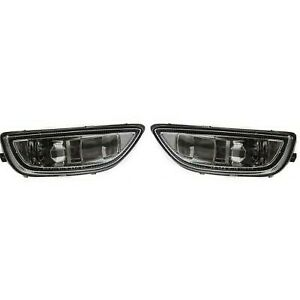 Set Of 2 Clear Lens Fog Light For 2001 02 Toyota Corolla Lh Rh W Bulbs