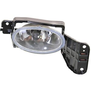 Clear Lens Fog Light For 2010 Honda Accord Crosstour Rh W Bulb