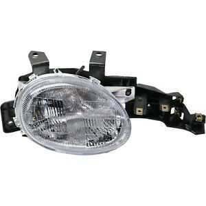 Halogen Headlight For 1995 1999 Dodge Neon Right W Bulb
