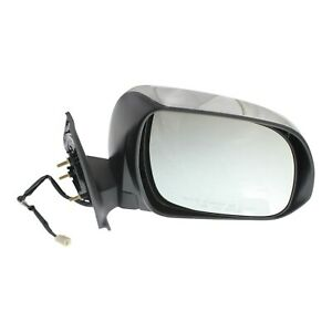 Power Mirror For 2012 2015 Toyota Tacoma Passenger Side With Signal Light Chrome