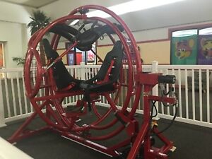 Red 2 Seater Gyroxtreme Gyroscope Ride
